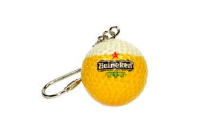Golfballschlüsselanhänger