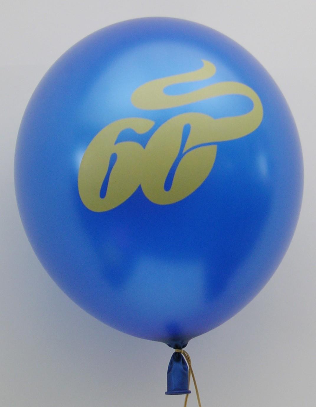 Lufballon mit Logo